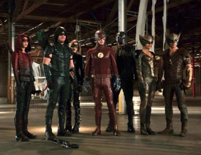 The Flash, Arrow und Legends of Tomorrow in einer Cross Over Folge ©TheCW/ProSieben
