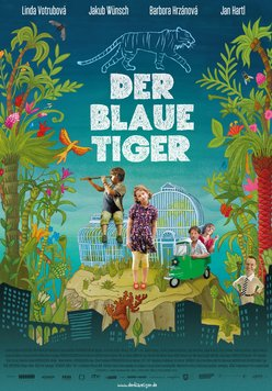 Der blaue Tiger Poster