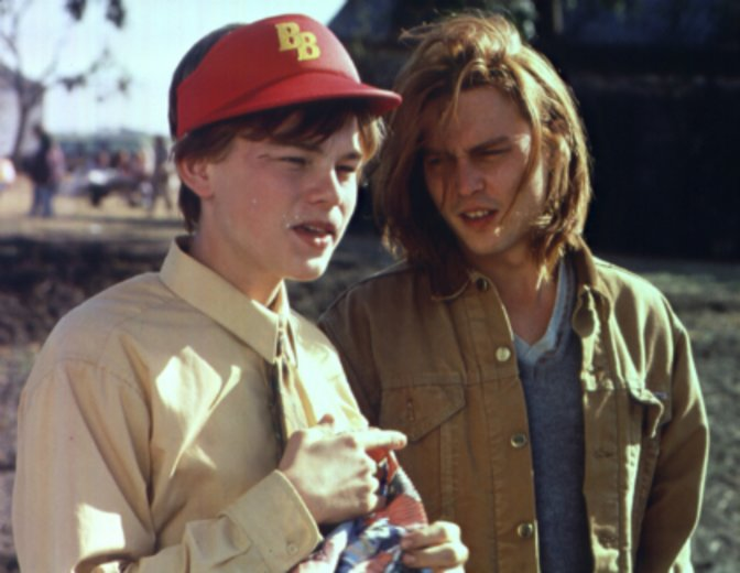 """Einfühlsam zeigt sich Leonardo DiCaprio in """"Gilbert Grape"""" an der Seite Johnny Depps© Buena Vista"""