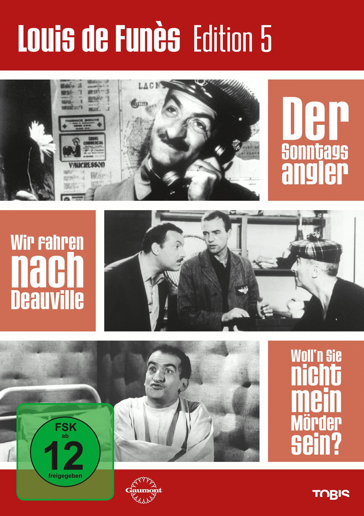 Louis de Funès Edition 5 (3 Discs) Poster