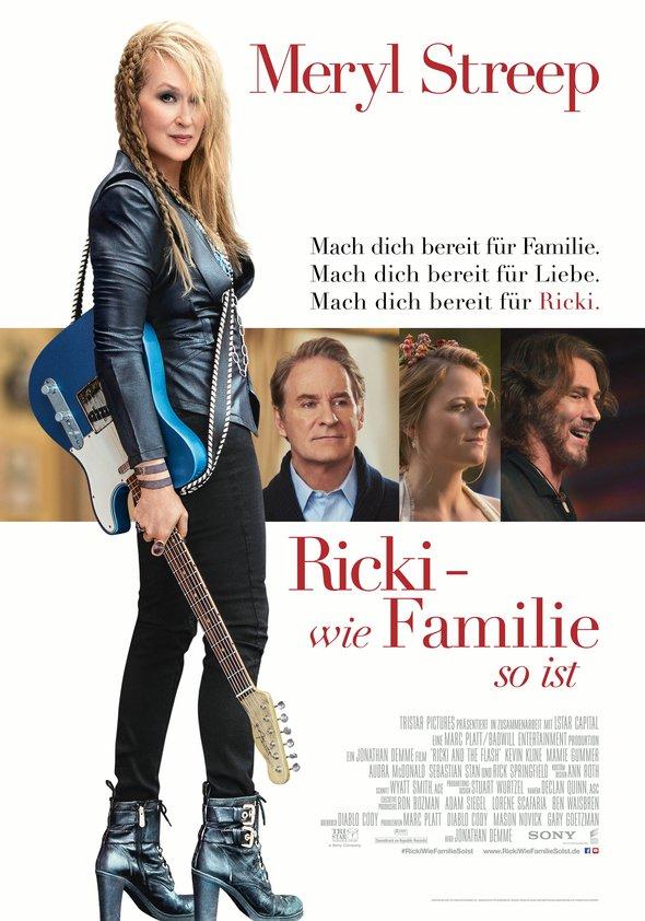 Ricki - Wie Familie so ist Poster