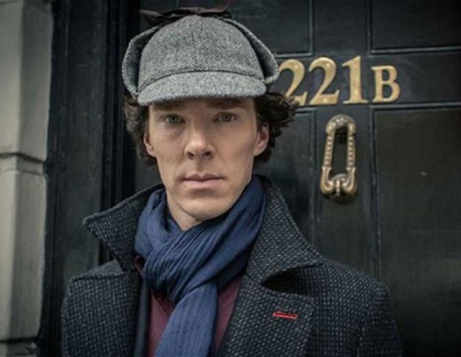 Benedict Cumberbatch ist Sherlock Holmes ©BBC/ARD