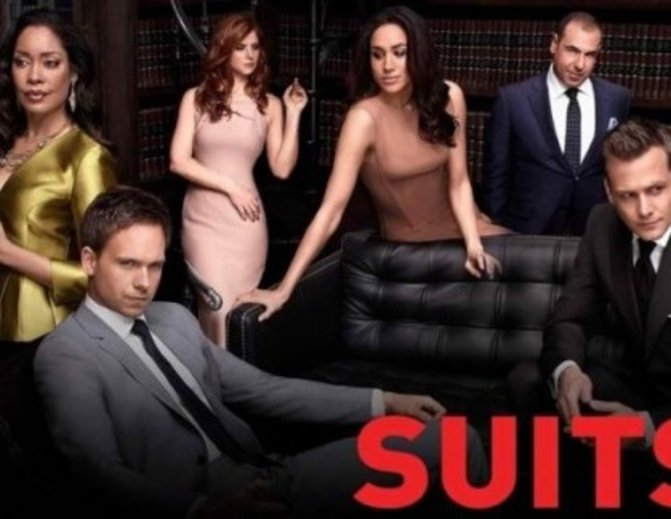 "Der Cast von ""Suits"" ©USANetwork/FOX Channel"