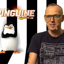 Thomas D - Kowalski - über die Zuordnung der Fanta4 auf die Pinguin-Charaktere - Interview Poster
