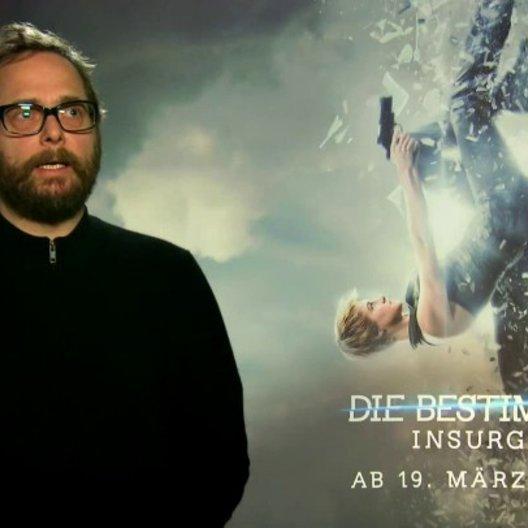 Robert Schwentke - Regisseur - über das Geheimnis eines erfolgreichen Blockbusters - Interview Poster