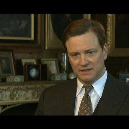 Colin Firth (King George VI) über die Aufgabe eines Königs - OV-Interview Poster