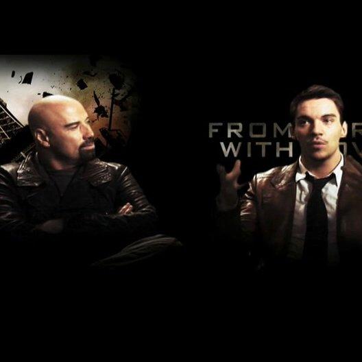 John Travolta und Jonathan Rhys-Meyers über die gemeinsame Zusammenarbeit - OV-Interview Poster