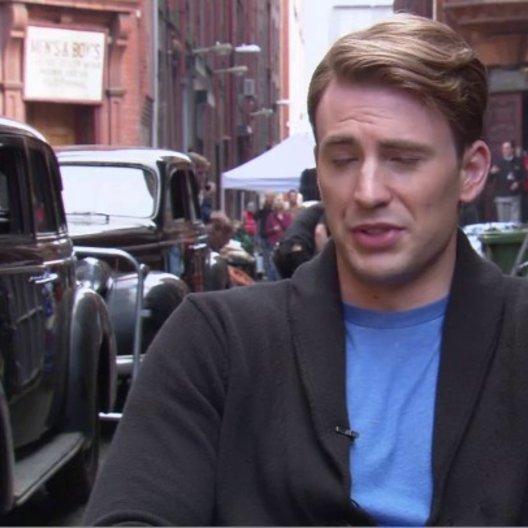 Chris Evens - Steve Rogers - Captain America - über Die Fans Von Captain America - OV-Interview