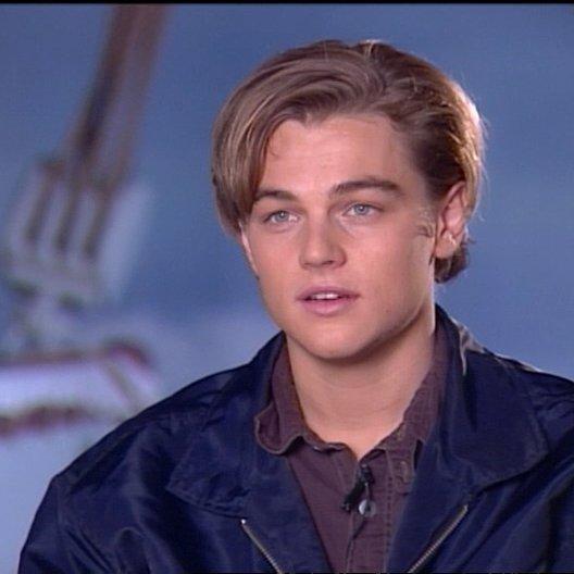 Leonardo DiCaprio (Jack) über James Cameron - OV-Interview