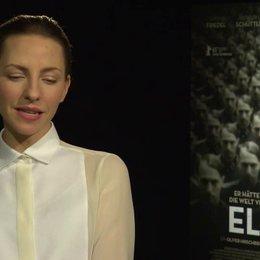Katharina Schüttler (Elsa) darüber, ob ihr die Geschichte vertraut war und was sie dran gereizt hat, mitzuspielen, darüber wie sie sich der Figur Elsa