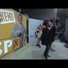 Auftritt von Schlagerstar Uschi Blum - Szene