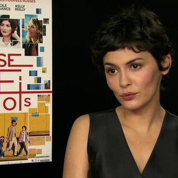 Audrey Tautou - Martine - über die Geschichte von Xavier - OV-Interview Poster