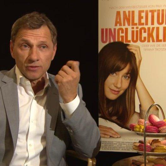 Richy Müller - Hans Luboschinski - über den Titel und die Idee des Films - Interview