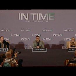PK mit Amanda Seyfried und Justin Timberlake 2 - Pressekonferenz Poster