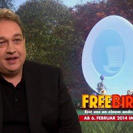 Oliver Kalkofe - deutsche Stimme Steve - Ein Ei hat keine Lippen - Interview Poster