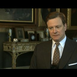Colin Firth (King George VI) über seine Rolle - OV-Interview