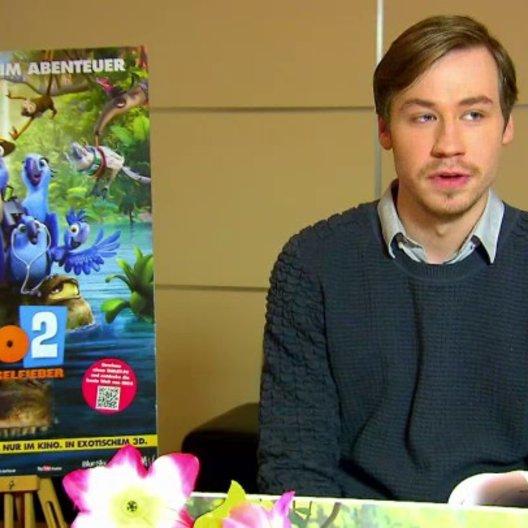 David Kross - Blu - über den zweiten Teil - Interview