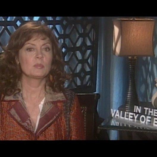 Interview mit Susan Sarandon ( Joan Deerfield ) - OV-Interview