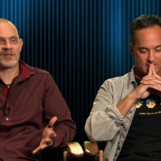 Ian Gooding und Mike Gabriel - Art Directors - Ian darüber wie sehr er seinen Beruf mag - OV-Interview