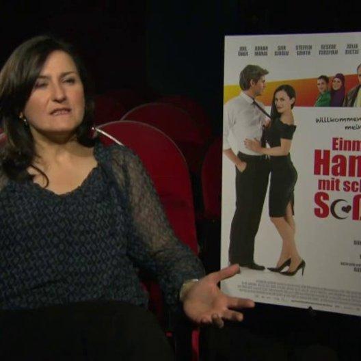 Siir Elogul über das Projekt, über den Film, über ihre Rolle, über den Akzent usw - Interview