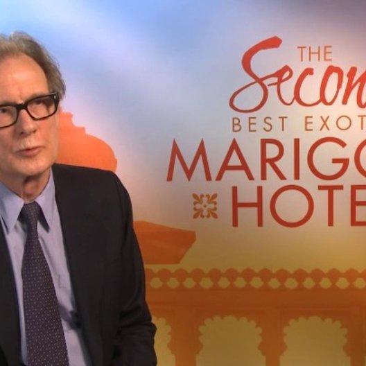 Bill Nighy über die Rückkehr zum Best Exotic Marigold Hotel - OV-Interview Poster