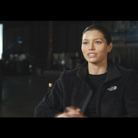 """Jessica Biel - """"Capt. Charisa Sosa"""" über die Beziehung zu """"Faceman"""" (Teil2) - OV-Interview"""