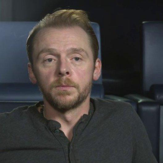 Simon Pegg - Jack - über das erste Treffen mit Lake Bell - OV-Interview