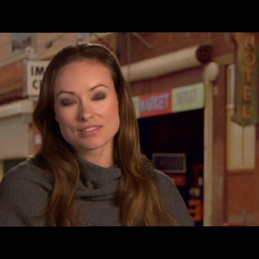 Olivia Wilde (Rachel Salas) über das, was den Film ausmacht - OV-Interview Poster