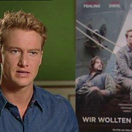 Alexander Fehling (Cornelis Schmidt) über den Film - Interview