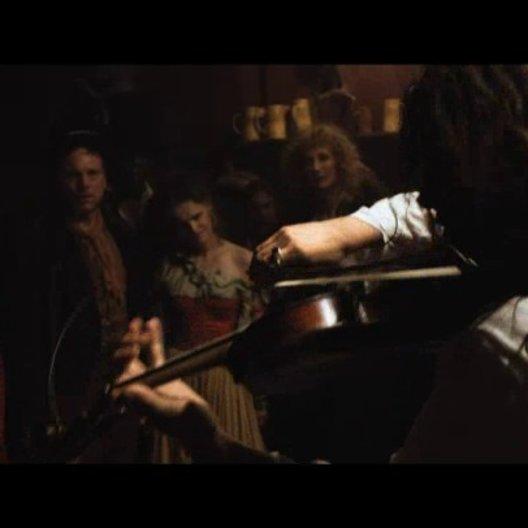 Paganini begeistert die Menge im Pub - Szene