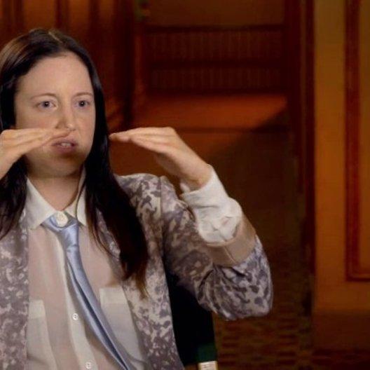Andrea Riseborough - Laura - über ihre Rolle als Laura - OV-Interview