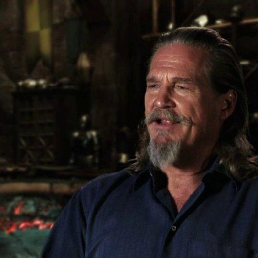 Jeff Bridges über die Zusammenarbeit mit Ben Barnes - OV-Interview
