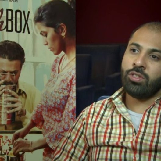Ritesh Batra (Regie) über die Entstehungsgeschichte des Films - über das System der Dabbawallas - darüber, wie er Irrfan Khan für den Film gewinnen ko Poster