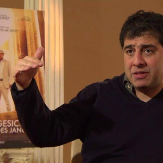 Hossein Amini - Regisseur - über Oscar Isaac als Rydal - OV-Interview Poster