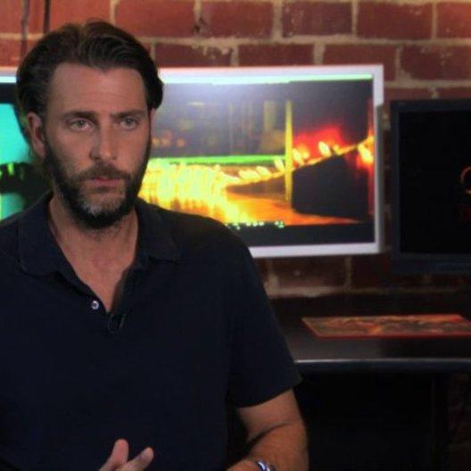 Andrew Form über die Tonalität des Films - OV-Interview