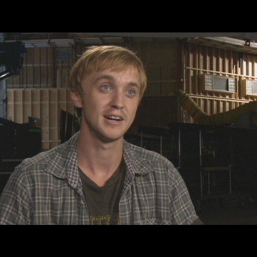 Tom Felton (Dodge Landon) über die Arbeit mit Performance Capture - OV-Interview Poster