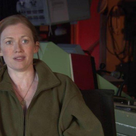 Mireille Enos - Karin Lane - über Brad Pitts Rolle Gerry Lane - OV-Interview