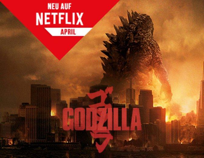 Neu auf Netflix April 2016 Godzilla