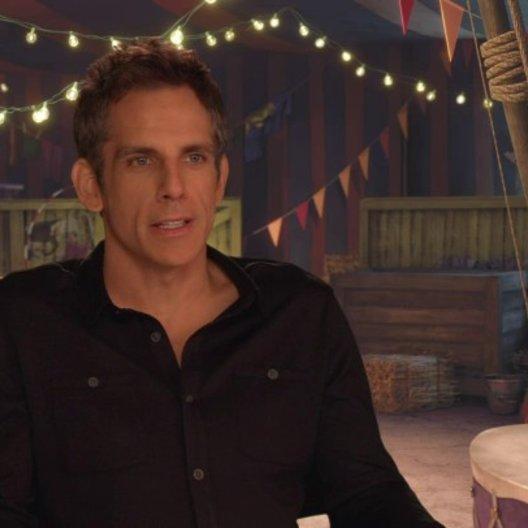 Ben Stiller - Alex - über seine Rolle Alex - OV-Interview