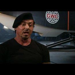 Sylvester Stallone über das Casting in Brasilien - OV-Interview Poster