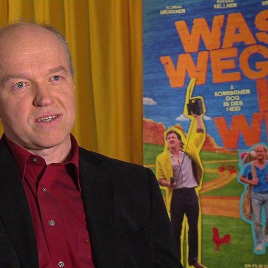 Heinz-Josef Braun (Johann Baumgarten) über seine Entscheidung bei diesem Film mitzuspielen - Interview