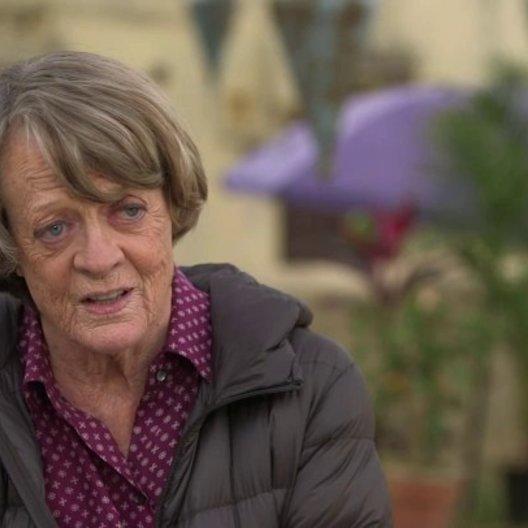 Maggie Smith über die Beziehung zwischen Sonny und Muriel - OV-Interview