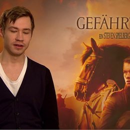 David Kross (Gunther) über die Spielberg-Momente in dem Film - Interview