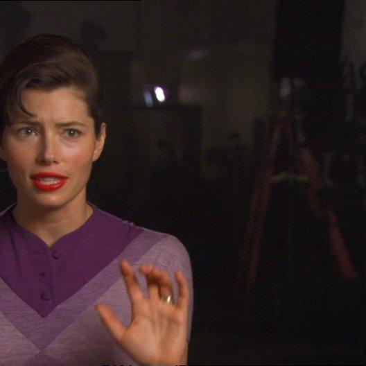 Jessica Biel (Vera Miles) über den Teamgeist der Zusammenarbeit bei der Produktion von Hitchcock - OV-Interview Poster