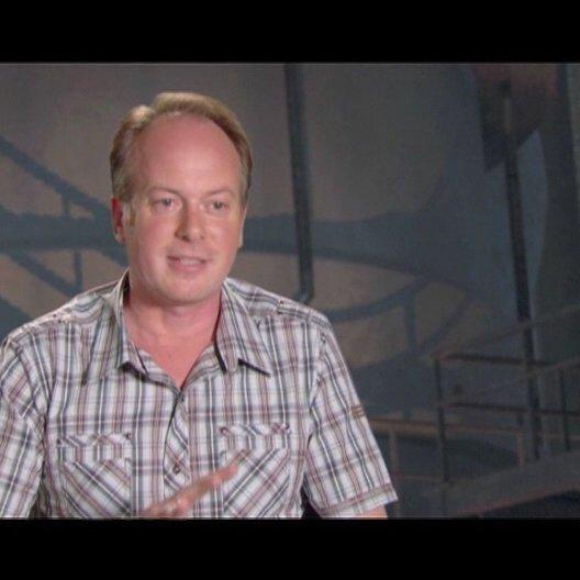 TOM McGRATH / Regisseur ueber MEGAMIND als Superhelden-Film - OV-Interview