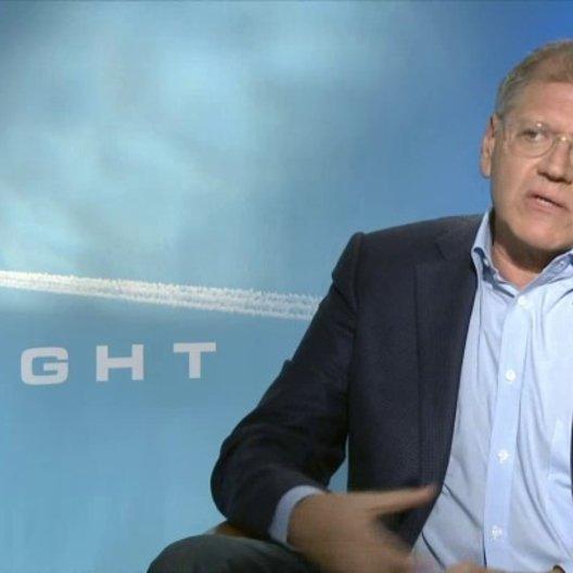 Robert Zemeckis - Regisseur - darüber was den Zuschauer erwartet - OV-Interview Poster
