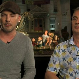 Chris Butler und Sam Fell über Courtney - OV-Interview Poster