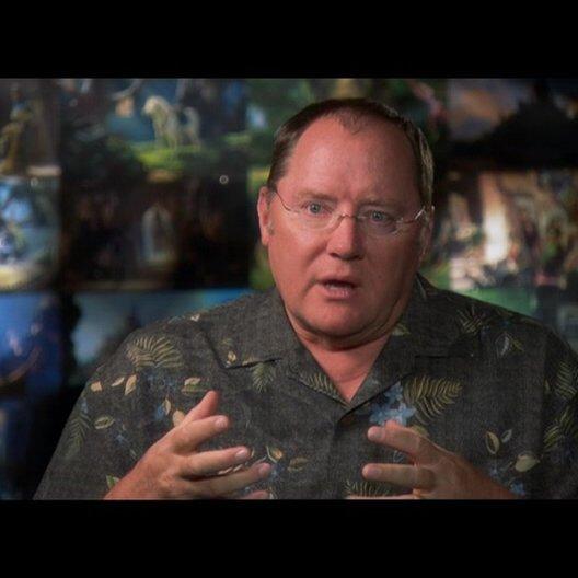JOHN LASSETER - Ausführender Produzent / über Rapunzel - OV-Interview