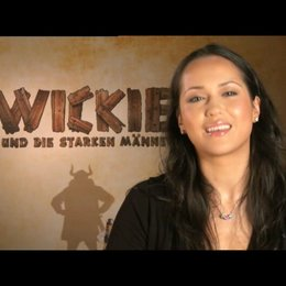 Ankie Beilke grüßt die chinesischen Zuschauer - Interview Poster