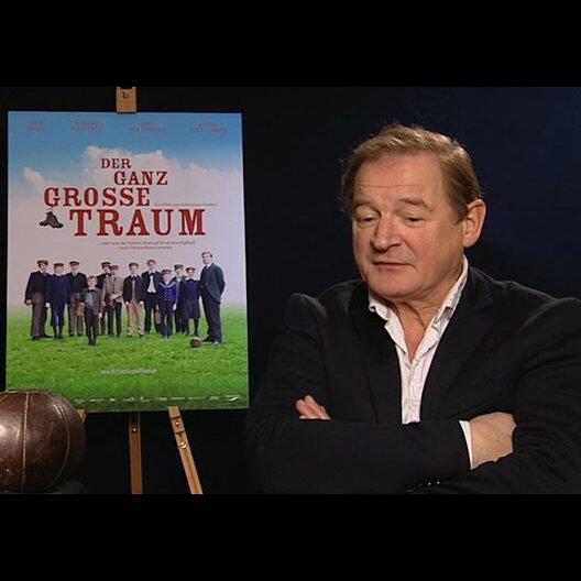 Burghart Klaussner (Gustav Merfeld) über die Figur des Schuldirektors - Interview